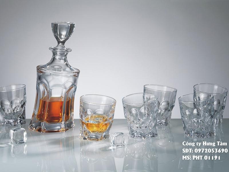 Bộ bình rượu Whisky Acapulco 2