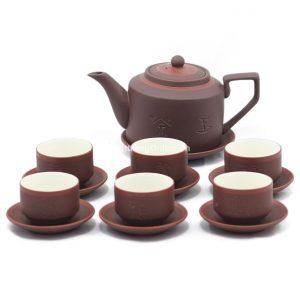 Bộ ấm chén để uống trà