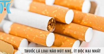 Thuốc lá loại nào hút nhẹ, ít độc hại nhất đối với cơ thể?