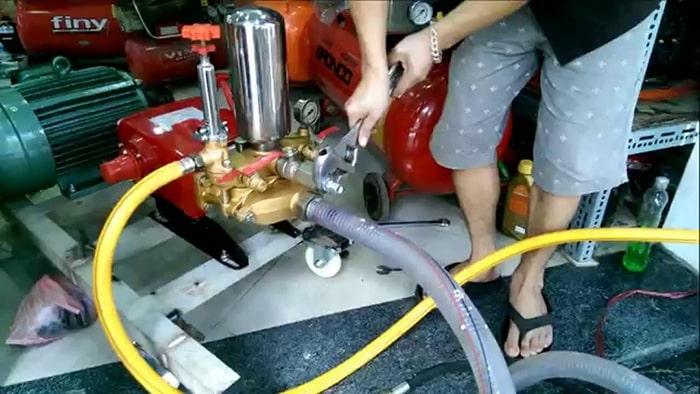 Cách chỉnh áp suất máy rửa xe không phải ai cũng biết