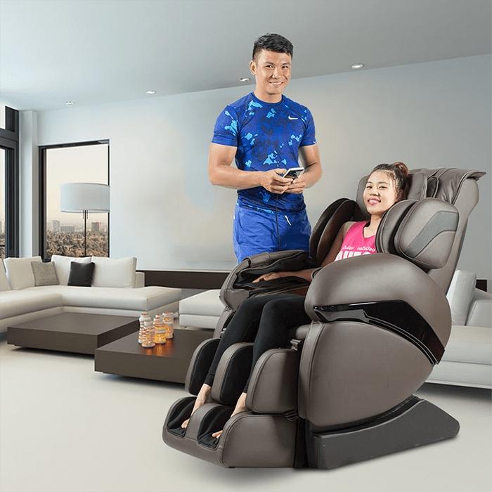 Tác dụng của ghế massage toàn thân đối với sức khỏe