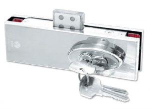Các loại khóa cửa kính phổ biến với khoá cửa kính thủy lực