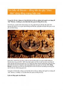 Viết bài thuê về Bitcoin là cách kiếm bitcoin đơn giản