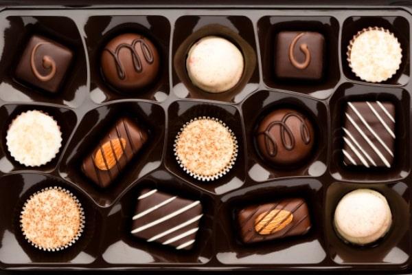 Chocolate tặng Valentine cho đàn ông