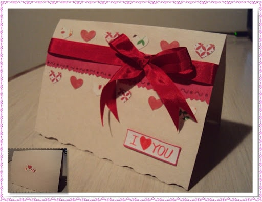 Tấm thiệp ghi lời chúc, bài thơ ngọt ngào đến người yêu