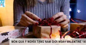 Nên tặng quà gì cho nam giới ngày valentine