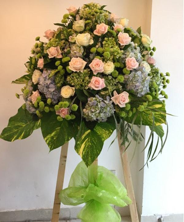 Mừng khai trương nên tặng hoa cẩm tú cầu