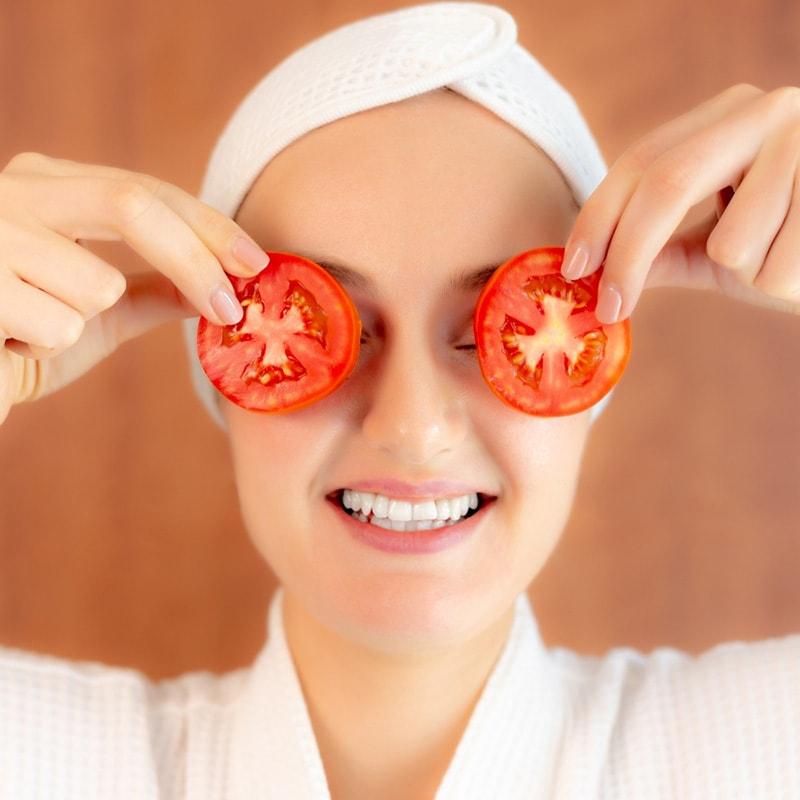 Cà chua có tác dụng dưỡng trắng da hiệu quả