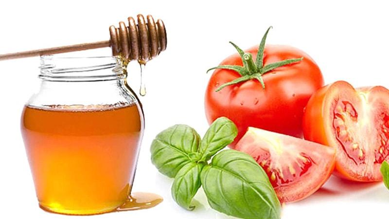 Mặt nạ cà chua mật ong giúp da trắng hồng như ý