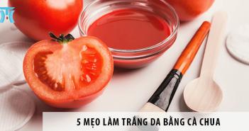 5 mẹo làm trắng da bằng cà chua con gái nhất định phải biết