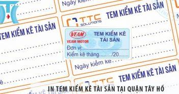 In tem kiểm kê tài sản tại quận Tây Hồ siêu nhanh, siêu rẻ