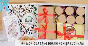 9+ món quà tặng doanh nghiệp cuối năm được ưa chuộng